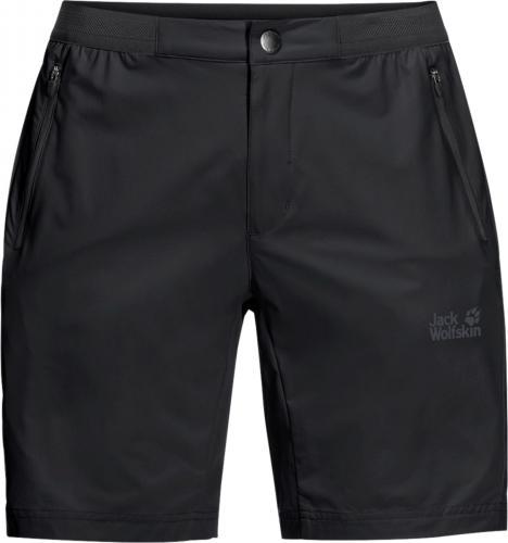 Jack Wolfskin Spodenki męskie Trail Shorts Black r. 54
