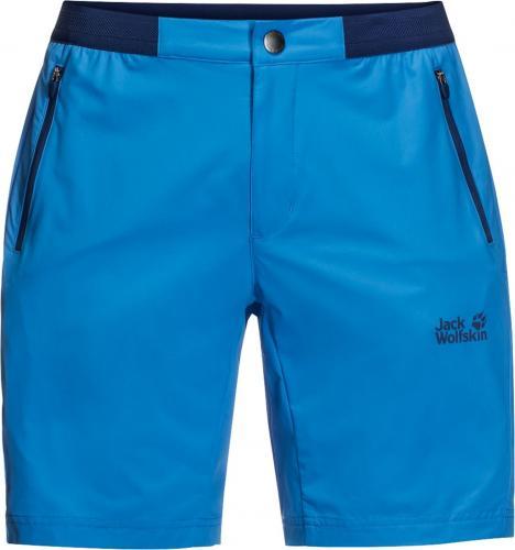 Jack Wolfskin Spodenki męskie Trail Shorts Brilliant Blue r. 52