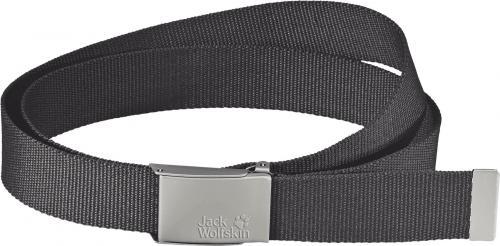 Jack Wolfskin Pasek męski Webbing Belt Wide dark steel 130cm
