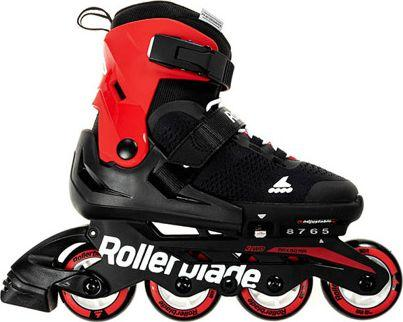 Rollerblade Rolki Combo 2019 Black/Red r. 33-36.5