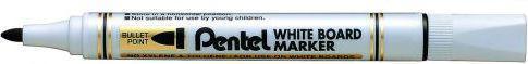Pentel Marker do tablic suchościeralnych MW85 okrągła końcówką czarny (42K019A)