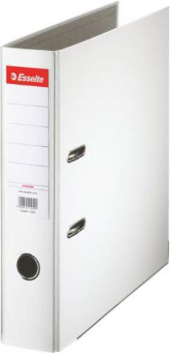 Segregator Esselte Segregator A4/75mm ekonomiczny  biały (10K008G)