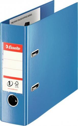 Segregator Esselte No.1 Bankowy dźwigniowy A5 75mm niebieski (10K167C)