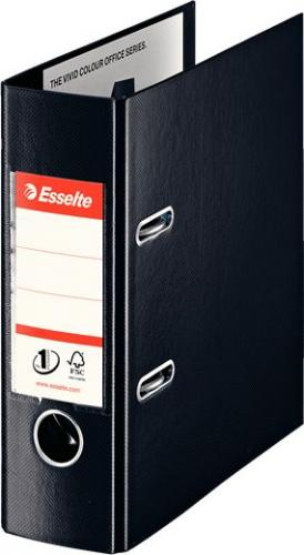 Segregator Esselte No.1 Vivida dźwigniowy A5 75mm czarny (10K010A)