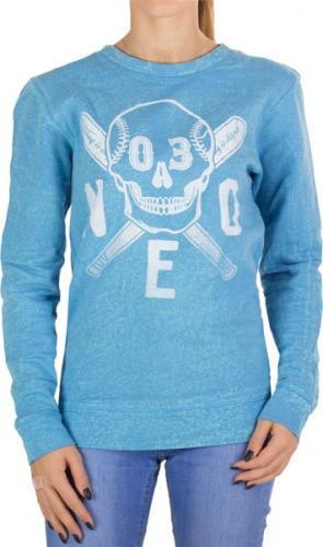 Adidas Bluza damska Skull Swt niebieska r. XS