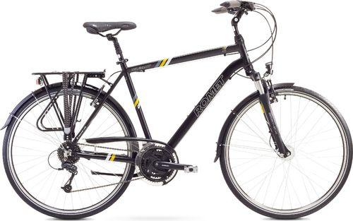 """Romet Romet Wagant 4 XL (23"""") czarno-żółty uniwersalny"""