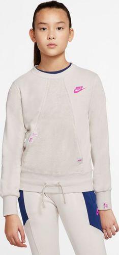 Nike Bluza Nike Y Sportswear Heritage CJ7427 104 CJ7427 104 beżowy M (137-147cm)