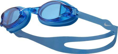 Nike Okulary pływackie Nike CHROME N79151 458 N79151 458-S niebieski senior