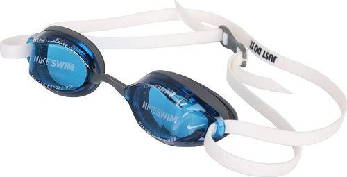 Nike Okulary pływackie Nike LEGACY NESSA179 400 NESSA179 400-S niebieski senior