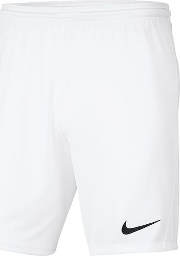 Nike Spodenki Nike Y Park III Boys BV6865 100 BV6865 100 biały M (137-147cm)