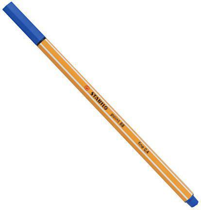 Stabilo Cienkopis Point 88 niebieski (54K002C)