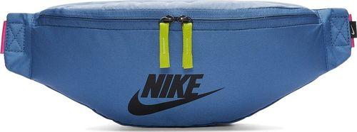 Nike NIKE Saszetka sportowa HERITAGE HIP PACK Nerka niebieska uniwersalny