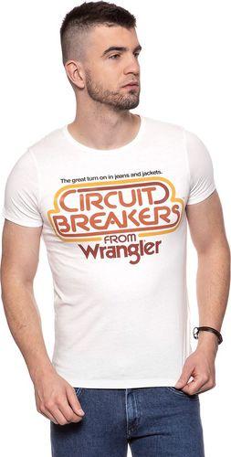Wrangler WRANGLER CIRCUIT TEE OFFWHITE W7B14FK02 M