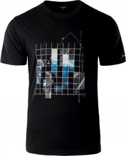 HI-TEC Koszulka męska Roden Black r. L