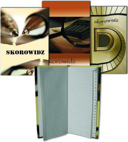 Grand Skorowidz szyty oprawa twarda Grand A5 96 kartek  (21K051H)