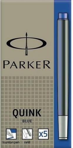 Parker Naboje do piór wiecznych 5 szt. niebieskie  (40K022C)