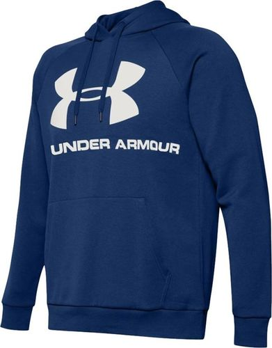 Under Armour Bluza męska Rival Fleece Sportstyle Logo Hoddie niebieska r. L (1345628 449)