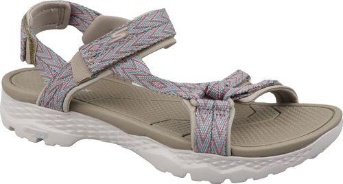 Skechers Sandały damskie Go Walk Outdoors beżowe r. 40 (14644-TPE)