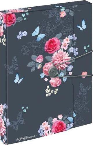 Herlitz Teczka A4 PP z gumką Ladylike Flowers