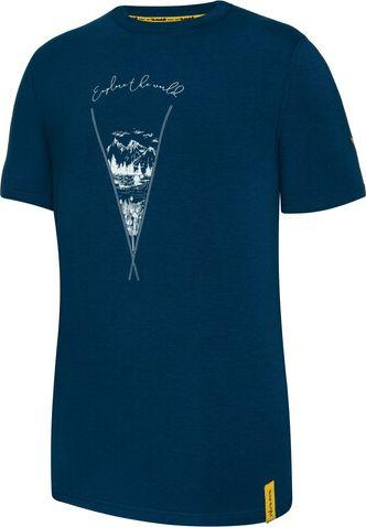 Viking Koszulka męska Bamboo niebieska r. L