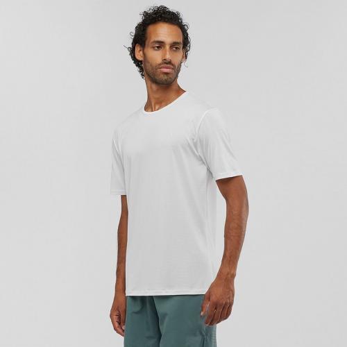 Salomon Koszulka męska Agile Training Tee White r. L (LC1282200)