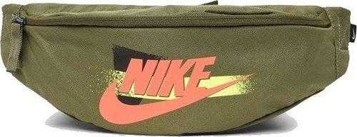 Nike NIKE Saszetka sportowa HERITAGE HIP PACK Nerka GEL FES zielona uniwersalny