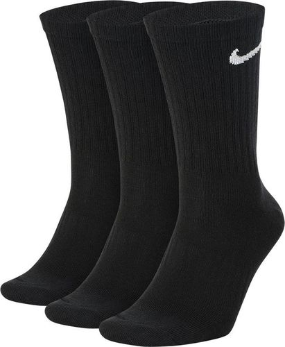 Nike Nike Everyday Lightweight Crew 3Pak skarpety wysokie 010 : Rozmiar - 39 - 42 (SX7676-010) - 14894_177775