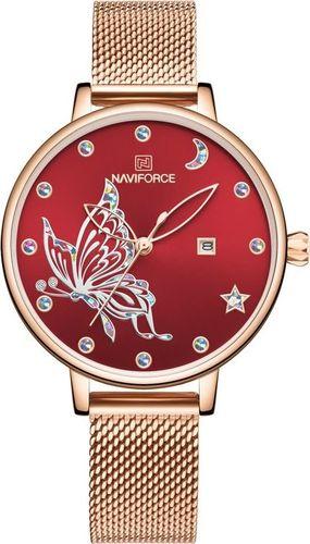 Zegarek Naviforce ZEGAREK DAMSKI NAVIFORCE - NF5011 (zn512c) + BOX uniwersalny