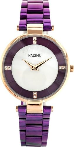Zegarek Pacific ZEGAREK DAMSKI PACIFIC X6119 - purple (zy624f) uniwersalny