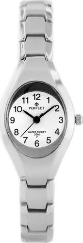 Zegarek Perfect ZEGAREK DAMSKI PERFECT T806 - silver (zp647c) uniwersalny