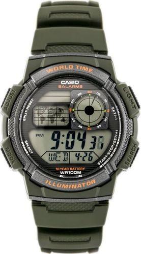 Zegarek Casio ZEGAREK MĘSKI CASIO AE-1000W 3AV (zd073b) - WORLD TIME uniwersalny