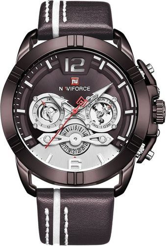 Zegarek Naviforce ZEGAREK MĘSKI NAVIFORCE NF9168 - (zn108c) + BOX uniwersalny
