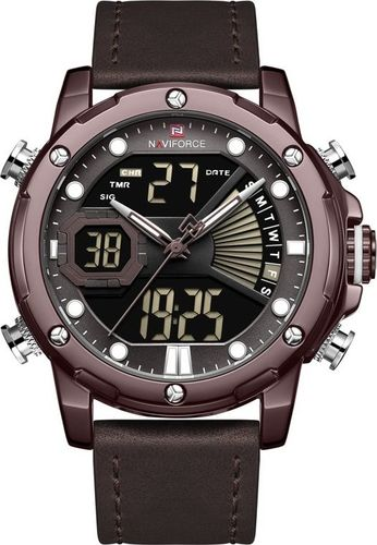Zegarek Naviforce ZEGAREK MĘSKI NAVIFORCE NF9172L - (zn111b) + BOX uniwersalny
