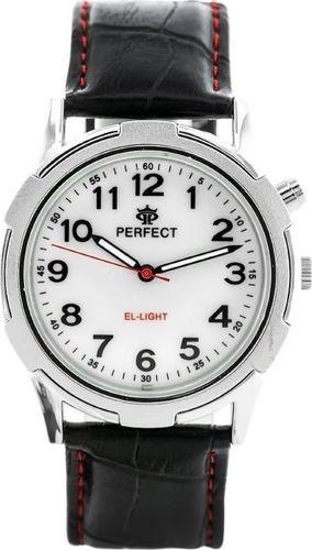 Zegarek Perfect ZEGAREK MĘSKI PERFECT A821 - ILUMINATOR (zp193b) uniwersalny