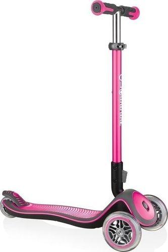 Globber Hulajnoga 3-kołowa Globber Elite Deluxe 444-210 Deep Pink uniwersalny