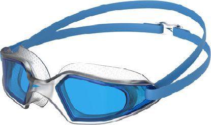 Speedo Okularki do pływania Speedo Hydropulse przezroczyste/niebieskie uniwersalny