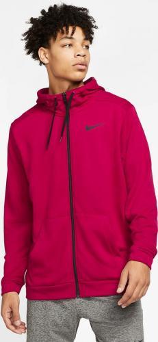 Nike Bluza męska Hoodie Dri-Fit czerwona r. XL