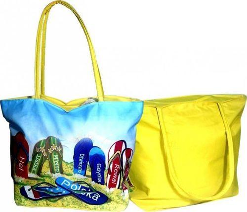 Torba plażowa Shopper Bag żółta
