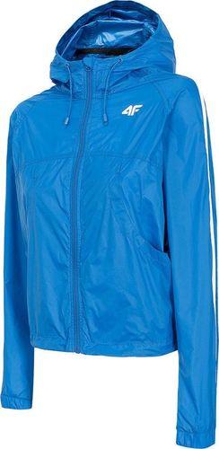 4f Kurtka damska H4L20-KUDC001 niebieska r. S