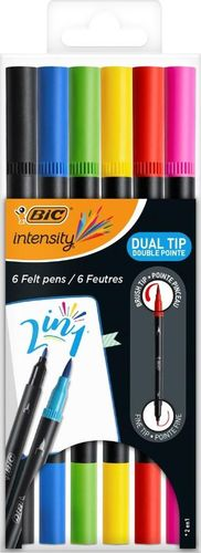 Bic PISAKI 2STR 6KOL BC INTENSITY ETUI