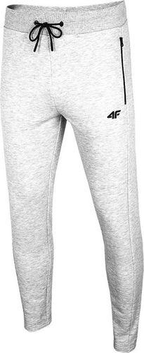 4f Spodnie męskie H4L20-SPMD010 szare r. XXXL