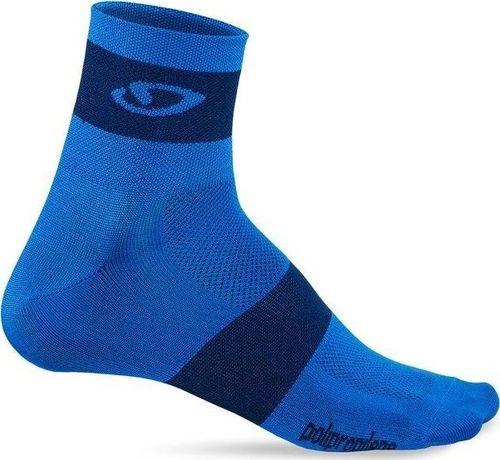 GIRO Skarpety GIRO COMP RACER blue midnight roz. L (43-45) (NEW)