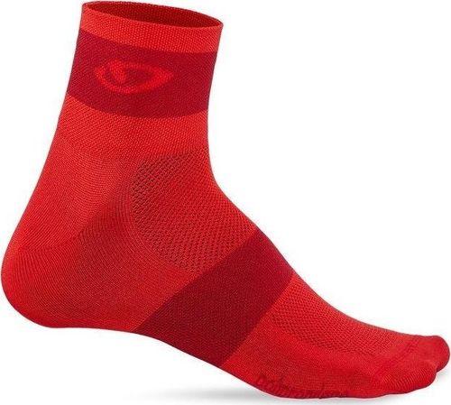 GIRO Skarpety GIRO COMP RACER bright red dark red roz. L (43-45) (NEW)