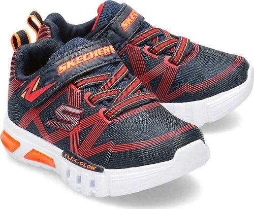 Skechers Skechers Flex-Glow - Sneakersy Dziecięce - 90542N/NVRD 22