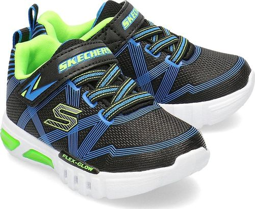 Skechers Skechers Flex-Glow - Sneakersy Dziecięce - 90542N/BBLM 22