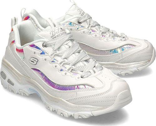 Skechers Buty damskie D'Lites-Flash Tonic białe r. 36 (66666178/OFWT)
