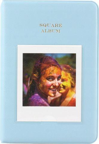 LoveInstant Album na 64 Zdjęcia do Fujifilm INSTAX Square SQ 6 - NIEBIESKI