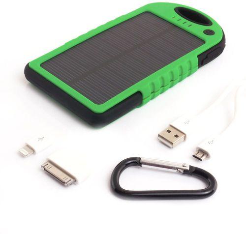 Powerbank PowerNeed 5000mAh z panelem solarnym 1.2W (S5000G)