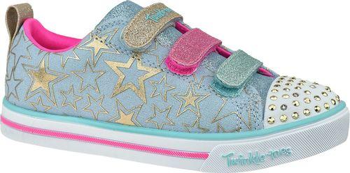 Skechers Buty dziecięce Sparkle Lite-Stars The Limit niebieskie r. 32 (314036L-LBMT)