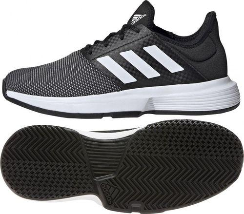 Adidas Buty adidas GameCourt EG2017 EG2017 czarny 38 2/3